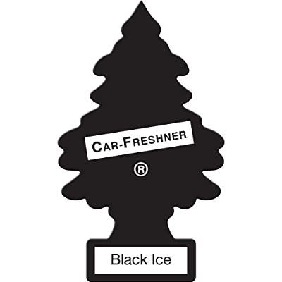 Little Trees, Air Freshner, Black Ice, 3 Count: Automotive