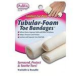 Pedifix Tubular-foam Toe Bandages, 3 - Large, (Pack of 2)
