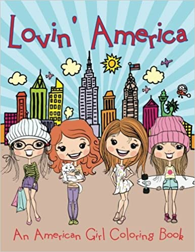 Lovin\' America (An American Girl Coloring Book): Jupiter Kids ...