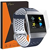PEYOU [6 PCS] [Full Coverage] HD Film Screen Protector Compatible Fitbit Ionic Smartwatch 2017 [Lifetime Replacements]