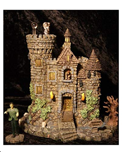 Hawthorne Village Universal Studios Munsters Collection The Frankenstein's Castle Collectible Halloween House -