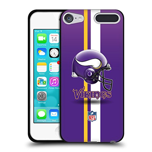 - Official NFL Helmet Minnesota Vikings Logo Black Soft Gel Case for Apple iPod Touch 5G 5th Gen