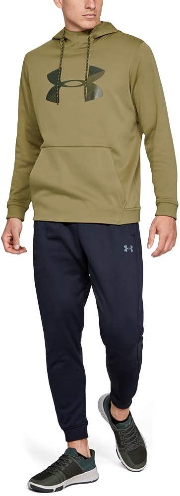 Under Armour Mens Fleece Big Logo Graphic Hoodie