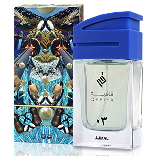 d88a6f4bf Ajmal Qafiya 03 For Unisex 75ml - Eau de Parfum: Amazon.ae