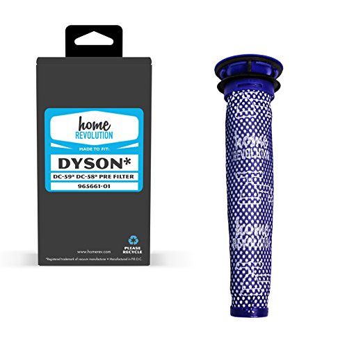 Home Revolution Replacement Pre-Filter, Fits Dyson DC58, DC5