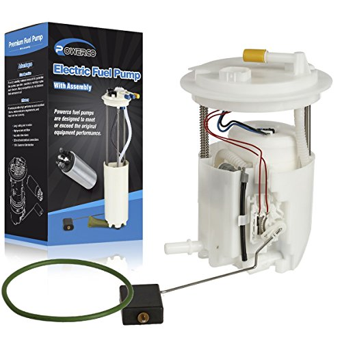 Electric Gas Fuel Pump Module Assembly E7218M/FG1536 with Sending Unit, Float, Reservoir and Tank Seal Replacement for Jeep Compass 2007-2016 L4-2.0L/2.4L, 4WD