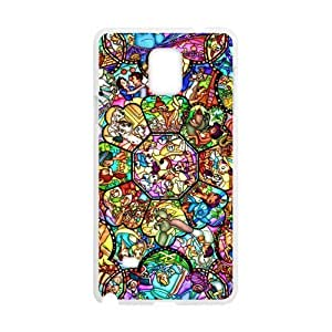 Canting_Good Stained Glass Custom Case Shell for SamSung Galaxy Note4 (Laser Technology) by ruishername