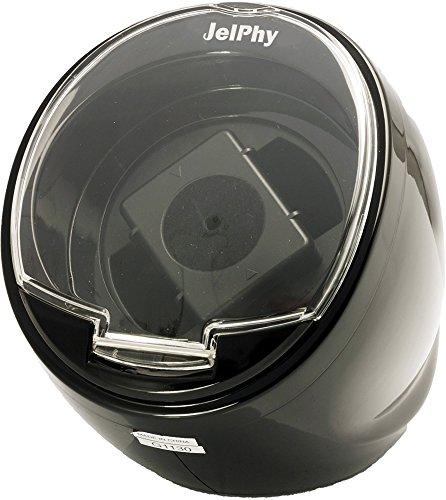 Jelphy 시계 와인딩 머신 1개 감음 마부치 모터 채용 KA003 (블랙)