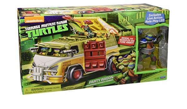 Giochi Preziosi - Ninja Turtles Partido Van con Carácter ...