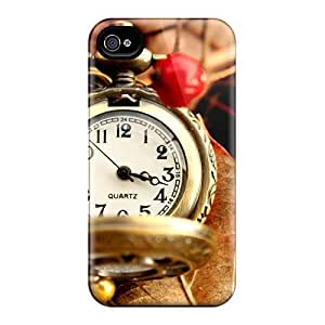 Bernardrmop Case Cover Protector Specially Made For Iphone 4/4s Beautiful Vintage Watch