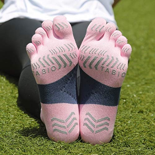 [Tabio]タビオ レーシングラン五本指ソックス 日本製 ランニング マラソン スポーツ 靴下 滑り止め