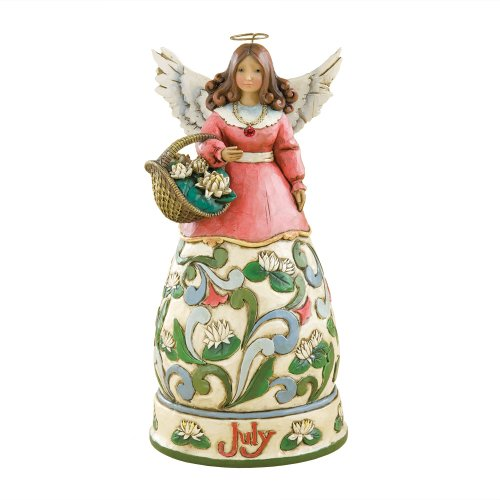 Enesco 4012556 jim shore heartwood creek july angel stone resin figurine for sale - Angels figurines for sale ...