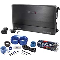 MB Quart DA1-2400.1 2400W RMS Mono Car Audio Discus Amplifier+Capacitor+Amp Kit