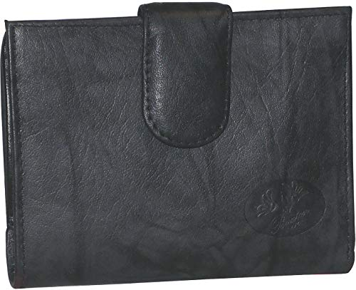 (Buxton RFID Double Cardex Wallet One Size Black )