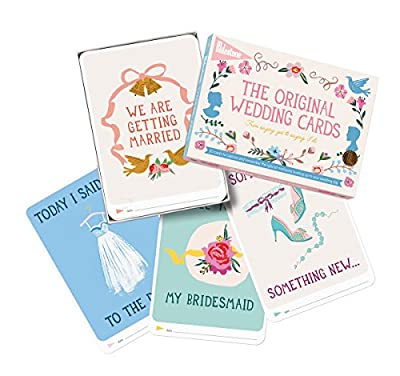 Milestone - Wedding Photo Cards - Set of 30 Photo Cards to Capture and Remember Every Step from the Engagement to the Wedding Day!