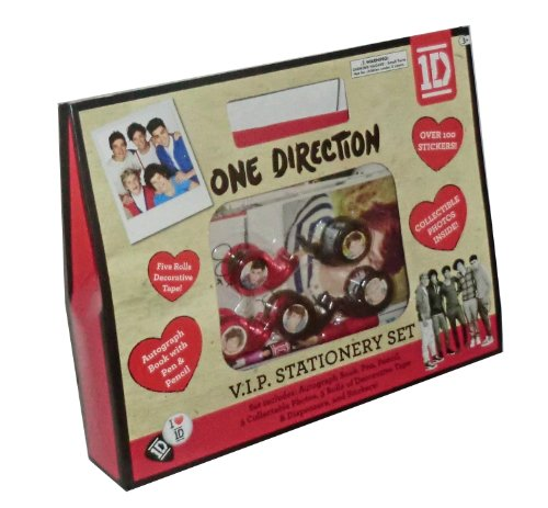 One Direction 1D VIP Stationary (Book Posters One Direction)