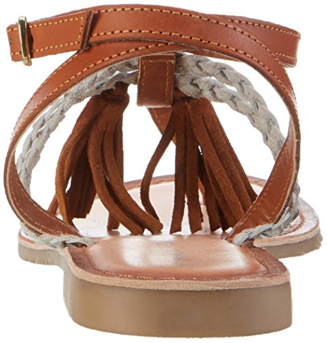 Cognac Femmes De Premio Brun Bracelet 28129 peigne Cheville Marco Tozzi Sandales 392 w4txAqnv0