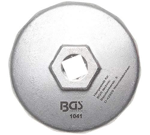 BGS 1041 | oliefiltersleutel | 14-kant | Ø 74 mm | voor Audi, BMW, Mercedes-Benz, Opel, VW