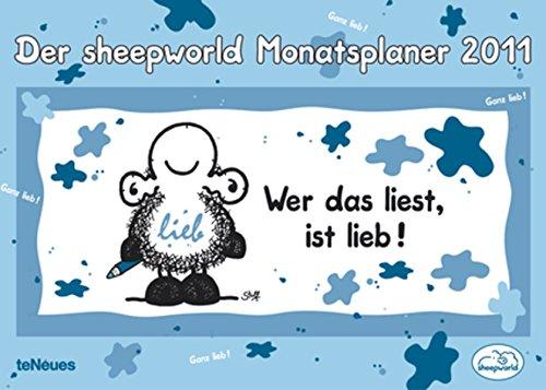 sheepworld Monatsplaner 2011