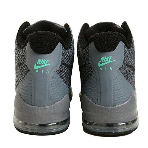 Nike Hommes Air Max Invigor Mi Chaussure Gris Froid / Préchauffage Noir-vert