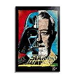 Darth Vader and OBI Wan Kenobi from Star Wars