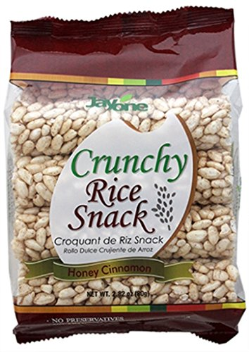 Jayone Crunchy Rice Snack, Honey Cinnamon, 2.8 Ounce (Pack of 6)