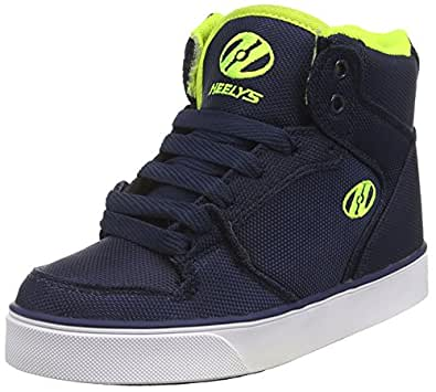 Heelys Cart 2.0 (770548), Zapatillas con Ruedas Niñas, Navy/Neon Yellow, 36.5 EU: Amazon.es: Zapatos y complementos