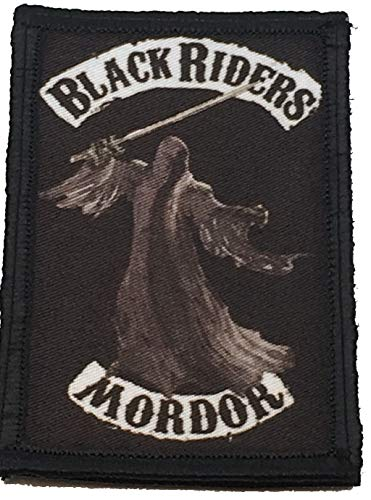 Black Riders of Mordor Morale Patch Funny Tactical Military 2x3