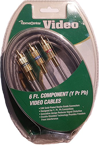 6 Component Video Cables (Y Pr ...