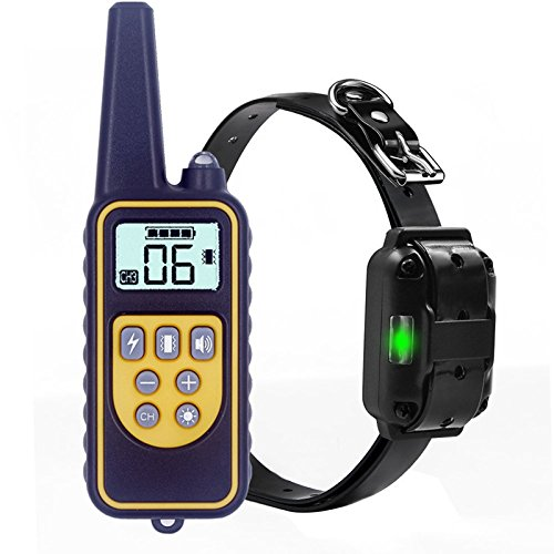 YISENCE Pet Trainer Waterproof Collar Remote Control