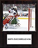 NHL New York Rangers Mats Zuccarello 12 x 15-Inch Player Plaque