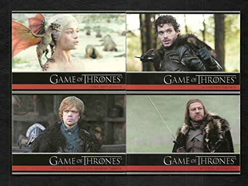 (2012 Game of Thrones Season 1 Complete Base Set Cards 1-72)