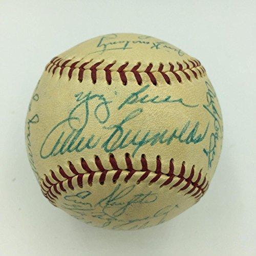 Yankees Team Signed Baseball - 9