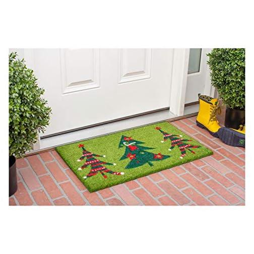 Calloway Mills 120981729 Christmas Trio Doormat, 17″ x 29″, Multicolor