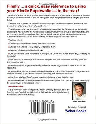 Outlet Paperwhite Users Manual The Ultimate Kindle Paperwhite Guide