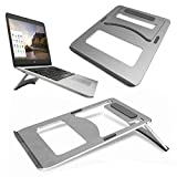 GUPi Aluminum Stand Portable Foldable Cooling NoteBook Desk Stand for Laptop Bag for HP Pavilion x360 (13.3)