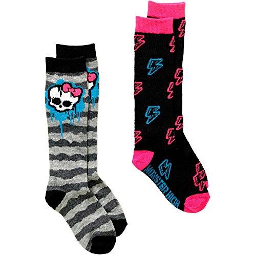 Criss Cross Monster High Creeperific Leg Warmer - Monster High Girls Knee High 2pair