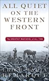 All Quiet on the Western Front, Erich Maria Remarque, 0449213943