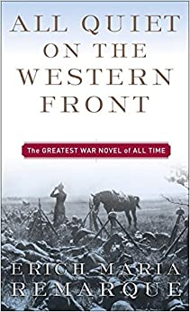 Image result for all quiet on the western front book cover