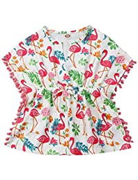Hello Kitty Kids Baby Girls Toddlers Swim Cover Up Dress Terrycloth Pink