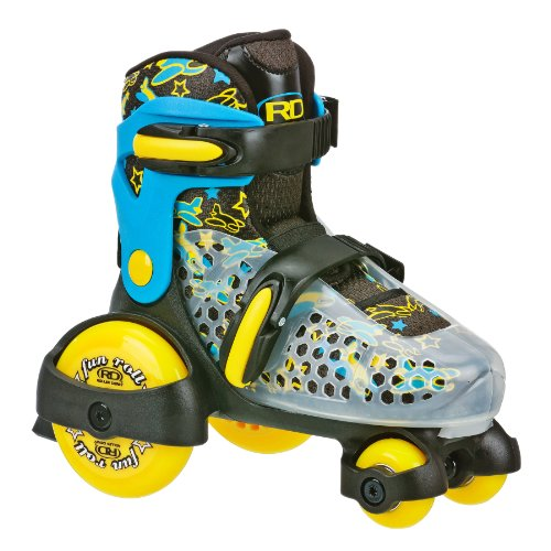 Roller Derby Boy's Fun Roll Adjustable Roller Skate, Medium (Fun Roller)