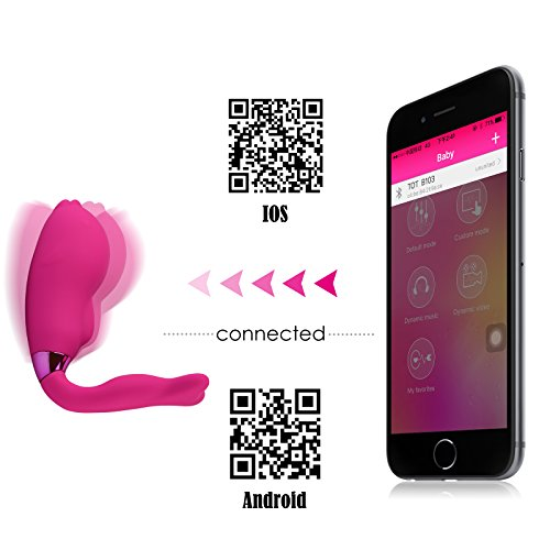 Tracy's Dog Dolphin Vibrator- Bluetooth Smart App-controled Vibrator, Best Sex Machines and Sex Robots - Sybians, Vibrators, Lovebotz