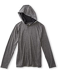 Men's Performance Hoodie Grey Size XL