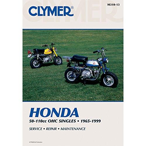 - Clymer Honda 50-110cc OHC Singles, 1965-1999: Service, Repair, Maintenance (Clymer Motorcycle)