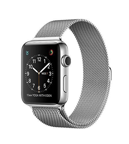 Apple Watch series 2 Stainless Steel 38mm (Stainless steel case with Milanese loop) by Apple watch series 3