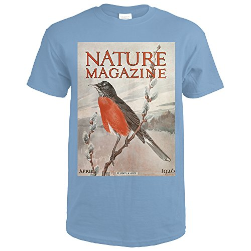 Amazon.com: Nature Magazine - View of a Red-Breasted Robin on a ...