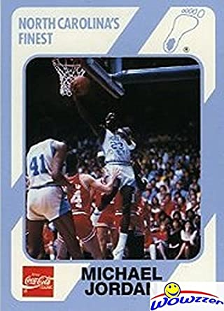Michael Jordan 1989 North Carolina Tar Heels Collegiate