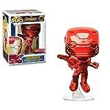 Marvel Avengers: Infinity War Bundle (4K/UHD + Funko POP! Marvel: Infinity War Iron Man in Red Chrome)
