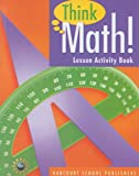 Harcourt School Publishers Think Math: Lesson Act Book Grade 5 2008 (Nsf Think Math)