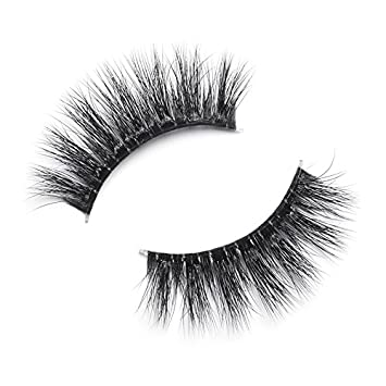 f2184ee117d Amazon.com : LILLY LASHES Inspired by Miami | Premium Synthetic Lashes | 3D False  Eyelashes | Invisible Band | Reusable | 100% Handmade : Beauty